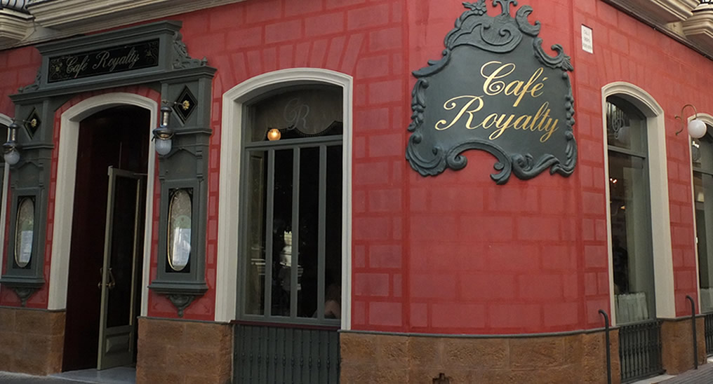 News of events restaurants in Cadiz - Cafe Royalty